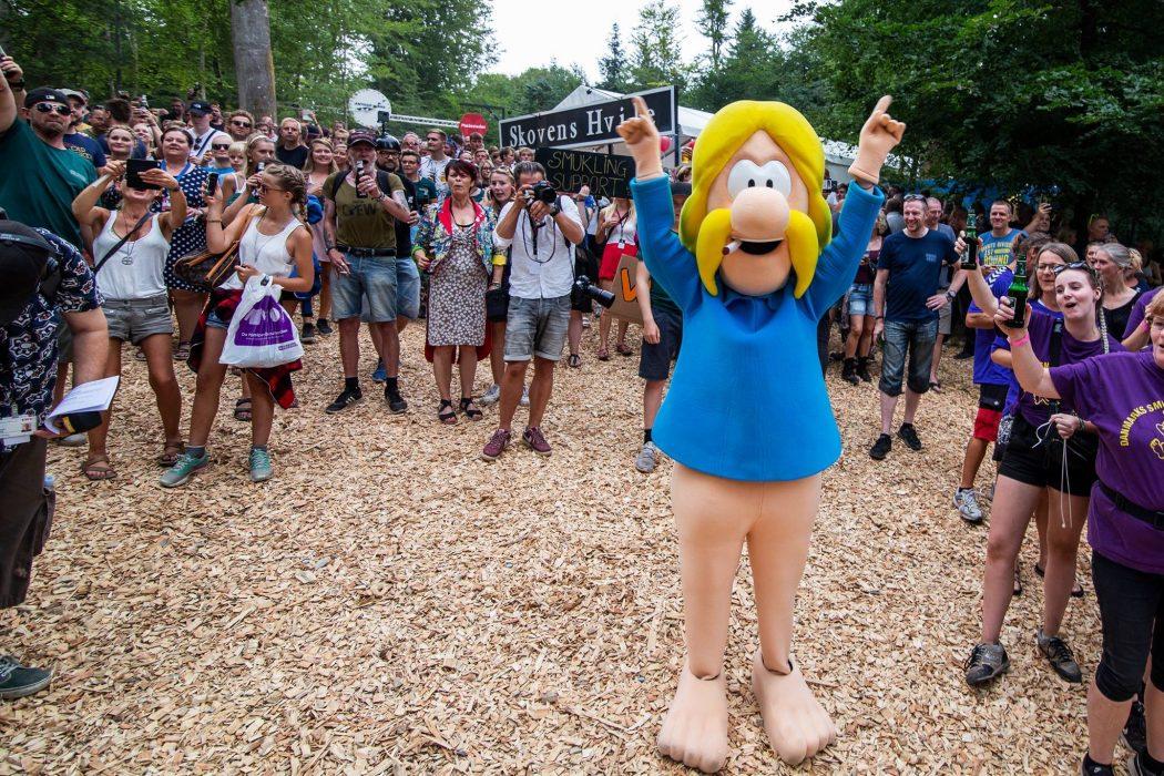 Smukfest maskot FestiWalther