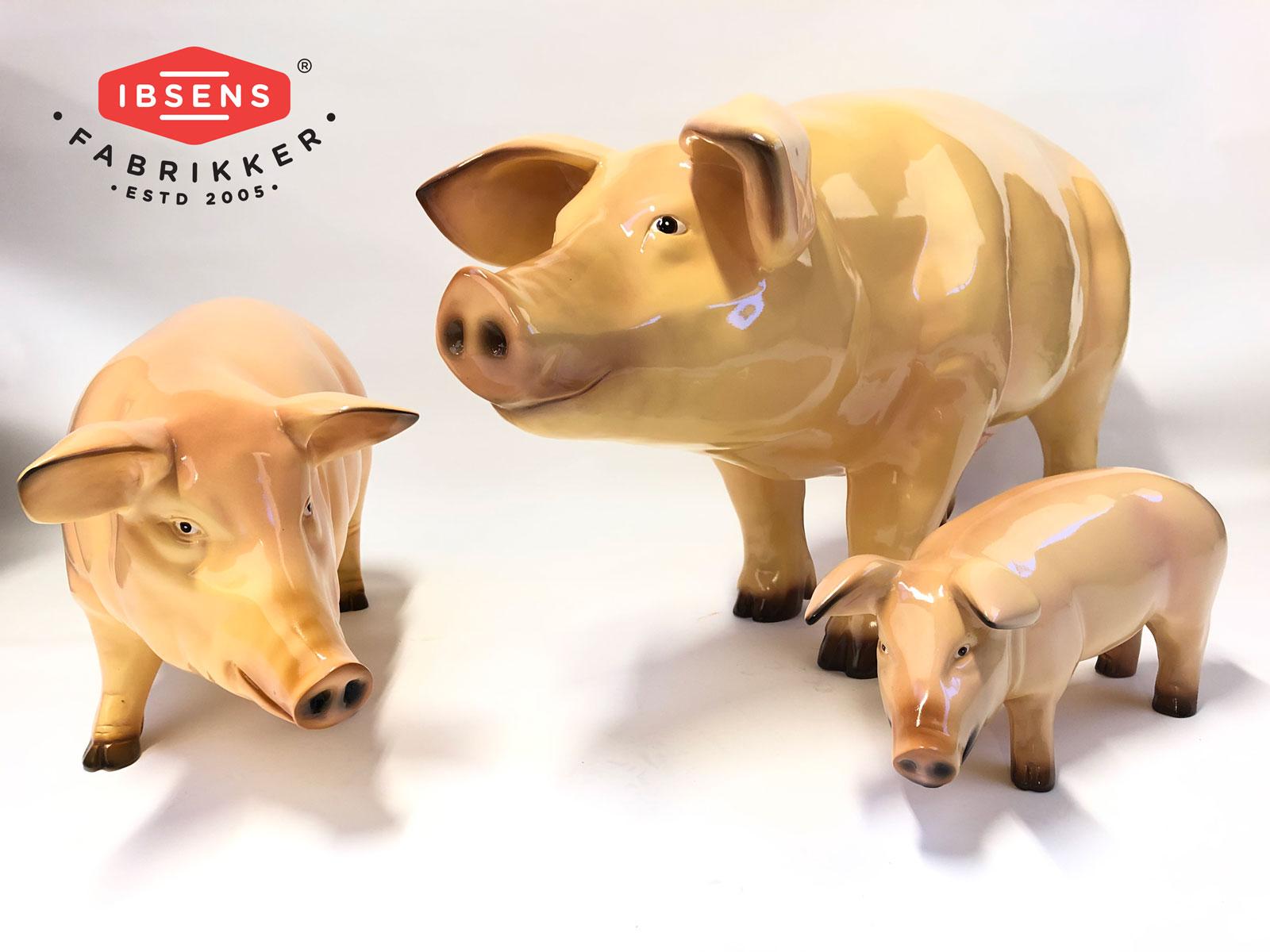 Glasfiber grisar är en riktig klassiker när det handlar om 3D figurer.